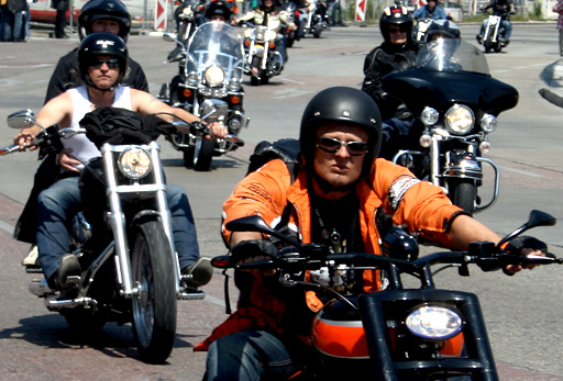 Harley Davidson Treffen in Wien
